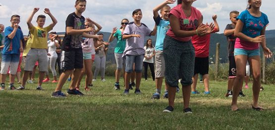 Dancing on the Square Project Camp – Fun Camp in Hollókő